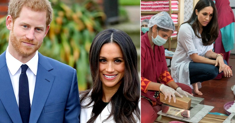 Prince Harry & Meghan Markle ask guests to donate to a Mumbai Charity instead of showering wedding gifts!