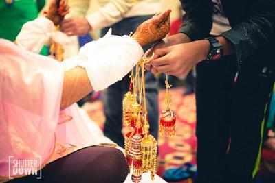 Khushi's chuda ceremony