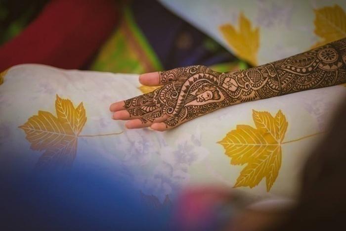 Mehndi Design That Tells a Story