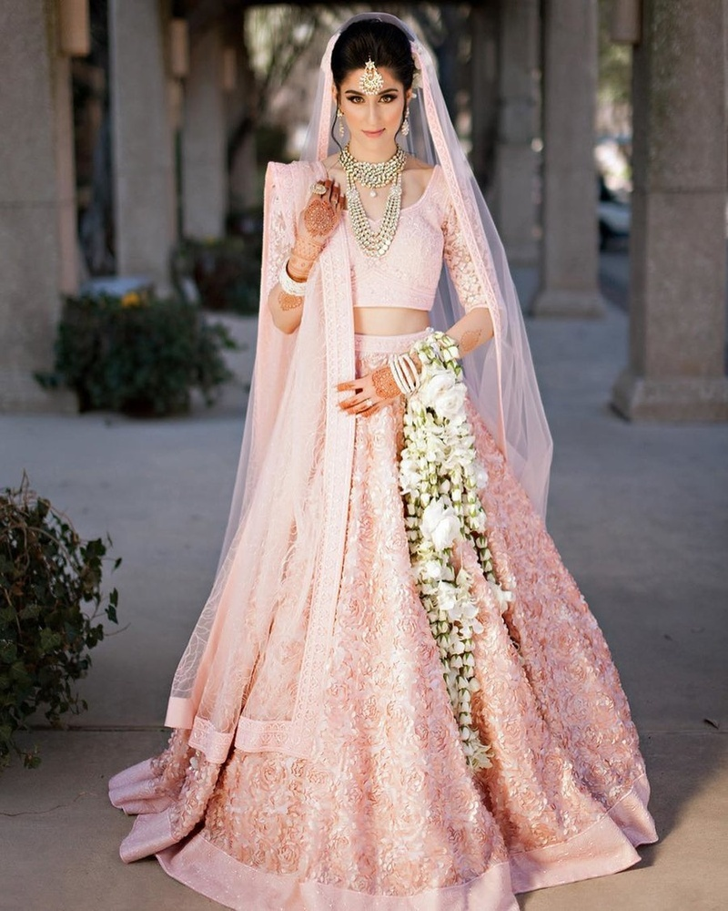 20+ Pink Bridal Lehengas That Stole Our Hearts This