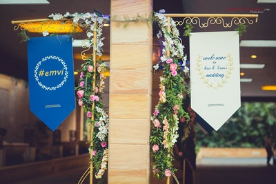 Wedding decor at Della Resorts, Lonavala