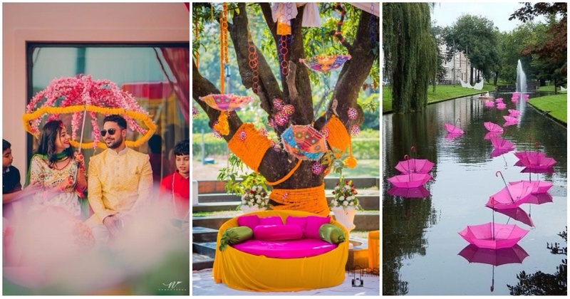 8 Cool Ways To Use Umbrellas As Decor At Your Indian Wedding!