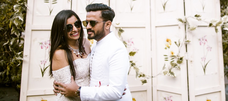 Sunny & Shreya Mumbai : This bride's grand wedding with extravagant after parties are setting major goals
