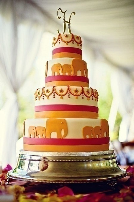 Cutesy Indian Wedding Cake Designs To Add A Desi Touch To Your