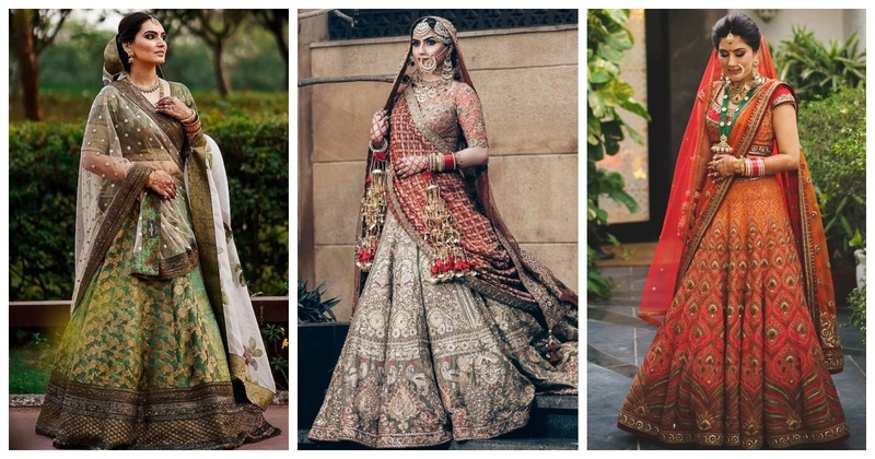 10 Unconventional Lehenga Colours for the New-age Bride!