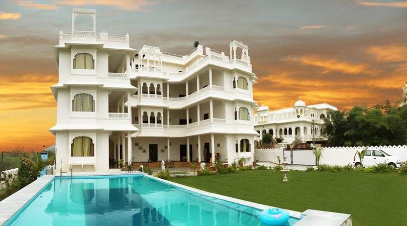 Sai Palace Goverdhan Villas Udaipur - Banquet Hall