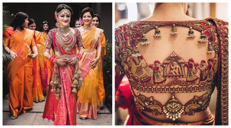 This South Indian - Punjabi bride broke the internet with her bridal outfits! #majorbridegoals