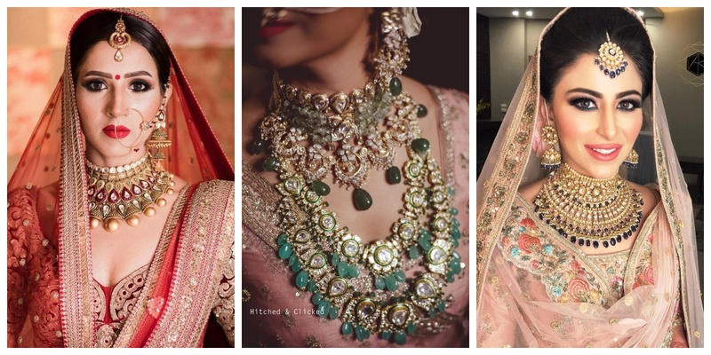 7 Brides who Rocked Statement Choker Necklaces on their Wedding