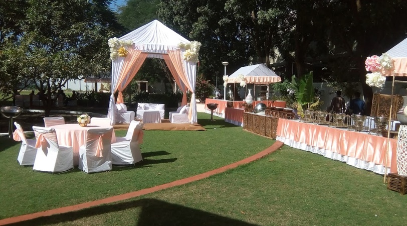 Bhandari Farm And Resort Kanadia Main Road Indore - Banquet Hall
