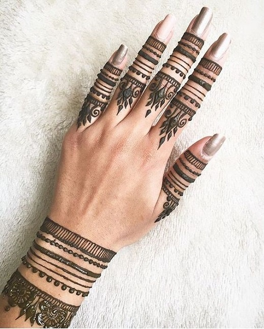 Cool Mehndi Designs: 12 Cool Mehndi Designs That Every 2017 Bride Must Check