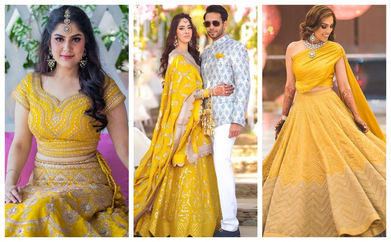 12 Brides who opted to wear a Yellow Lehenga and made our hearts happy!