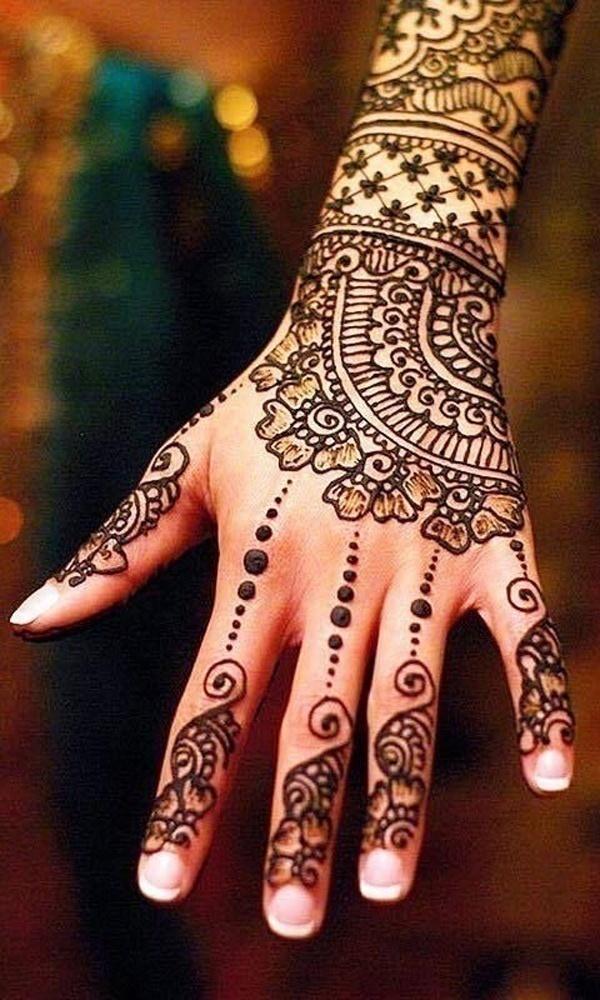 Best Arabic Bridal Mehndi Designs That Are Effortlessly Gorgeous Blog