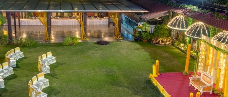Vedam Lawns Salt Lake City Kolkata - Banquet Hall