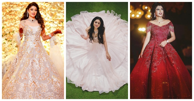 10 extravagant cocktail & reception gowns that will make you feel like a faiytale princess!