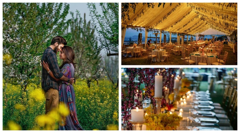 What happens when India's top photographer & decorator come together for a Kashmir Wedding - Pure Magic!
