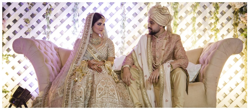 Abhishek & Sanchita Agra : This coordinated couple's wedding with Taj Mahal as the backdrop was nothing short of a fairytale!