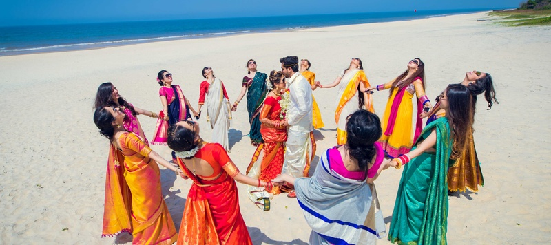 Deep & Yamini Goa : Girl squads, beach weddings and a sassy bride at this destination wedding in Goa!