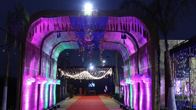 Saffron Garden Rohini Delhi - Banquet Hall