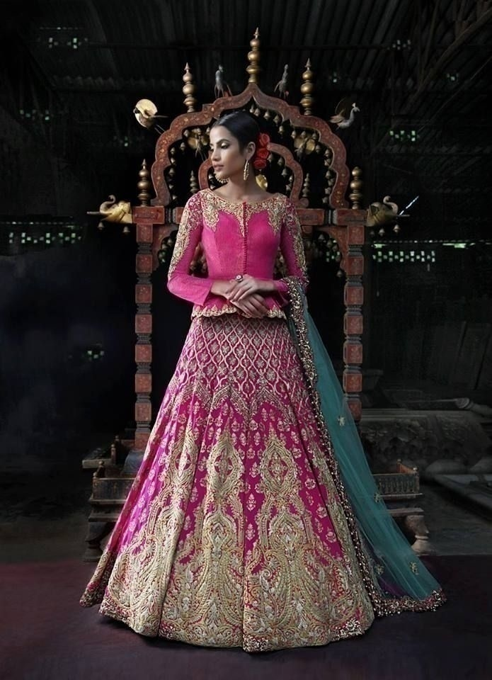 Lehenga with an Attached Choli