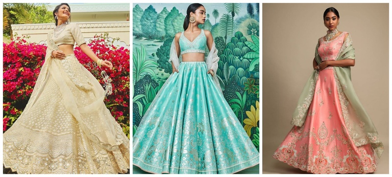 20 Party Wear Lehenga Designs for the Sister of the Bride