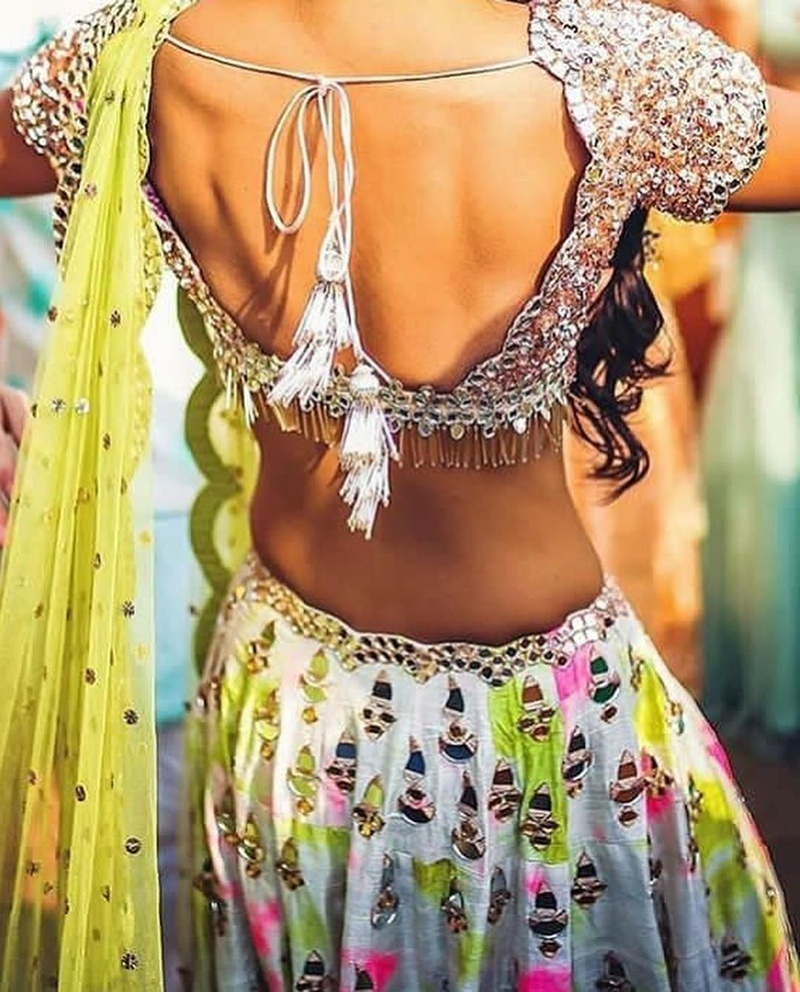 40 Blouse Back Neck Designs You Have To Check Out This Indian Wedding Season Bridal Wear Wedding Blog