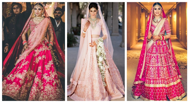 20+ Pink Bridal Lehengas that stole our hearts this wedding season!