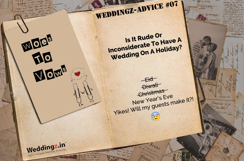 Is It Rude Or Inconsiderate To Have A Wedding On A Holiday? – Weddingz Advice #7