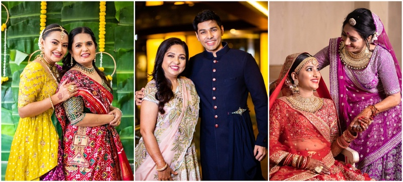 Beautiful Mother-Child Moments from Real Weddings to Savour this Mother's Day!