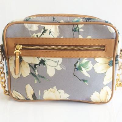 Princesse K Floral  Grey Pashmina Sling Bag