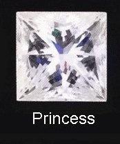 princess square cut diamond choosing engagement ring