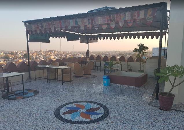 Royal Heritage Guest House Gulab Sagar Jodhpur - Banquet Terrace