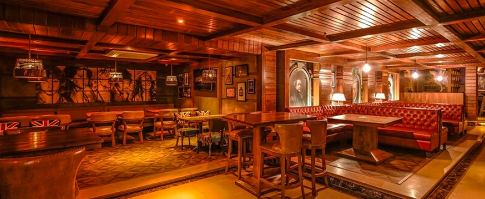 Master Of Malts Connaught Place Delhi - Banquet Hall