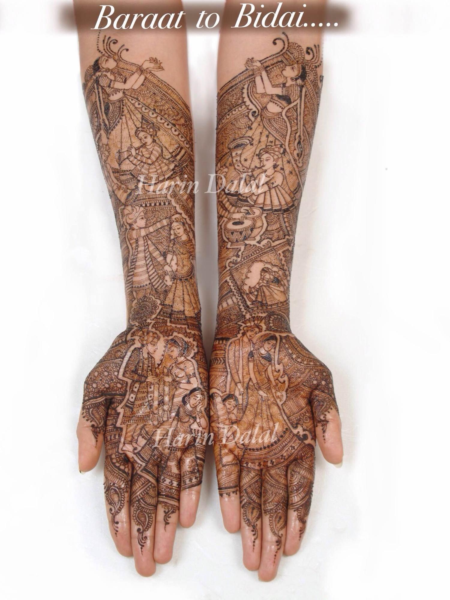 Bridal Mehndi Artist In Surat : Harin dalal bridal mehendi artist mehndi in