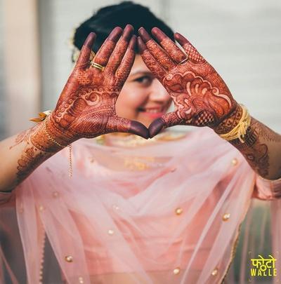 Bridal Mehendi by Ravi Mehendi wala,