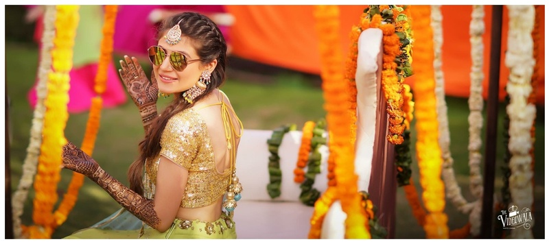 Sahil & Srishti Patiala : This bride wore some really offbeat jewellery at her wedding functions that stole our hearts away!