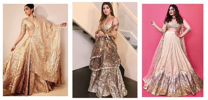 5 Dazzling 'Lampi' Gota Ensembles for your Bridal Trousseau