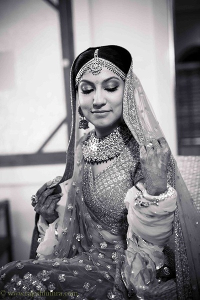 Glam bridal makeup by MUA Asha Hariharan