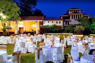 Rustic Rose Hall Mapusa Goa Wedding Lawn Weddingz In