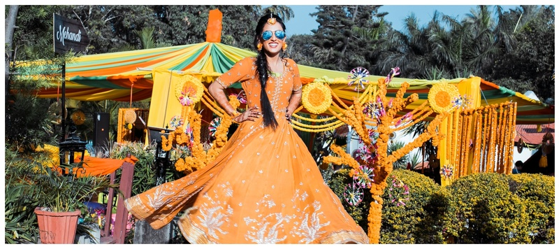 Vishal & Vandana Jaipur : Quirky decor, extravagant outfits and an adorable couple- this wedding had it all!