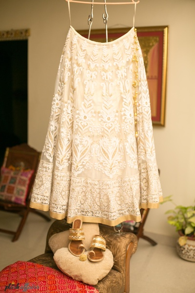 Bridal Outfit by Tarjani Couture, Mumbai.