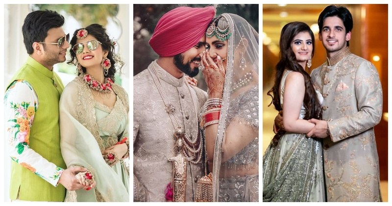 10 Grooms who Rocked their Pastel Wedding Look