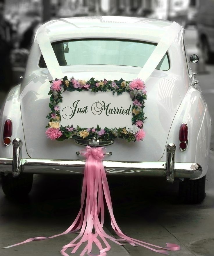 5 wedding car dcor ideas that will inspire you blog windowglass markers junglespirit Image collections
