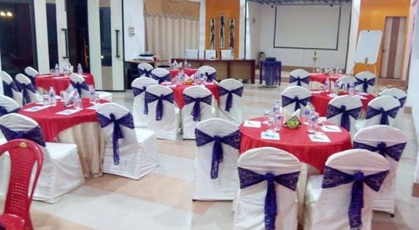 Aarian Woods Resorts Tepesia Guwahati - Banquet Hall