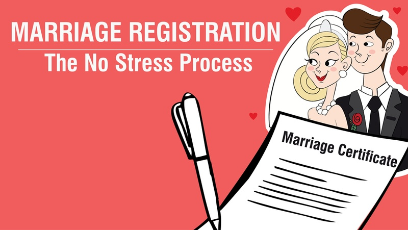 Marriage Registration – The No Stress Process