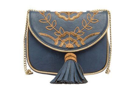 Rossoyuki Blue Bag Clutch