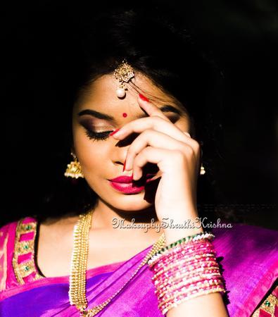 makeup by shruthi krishna | Bangalore | Makeup Artists