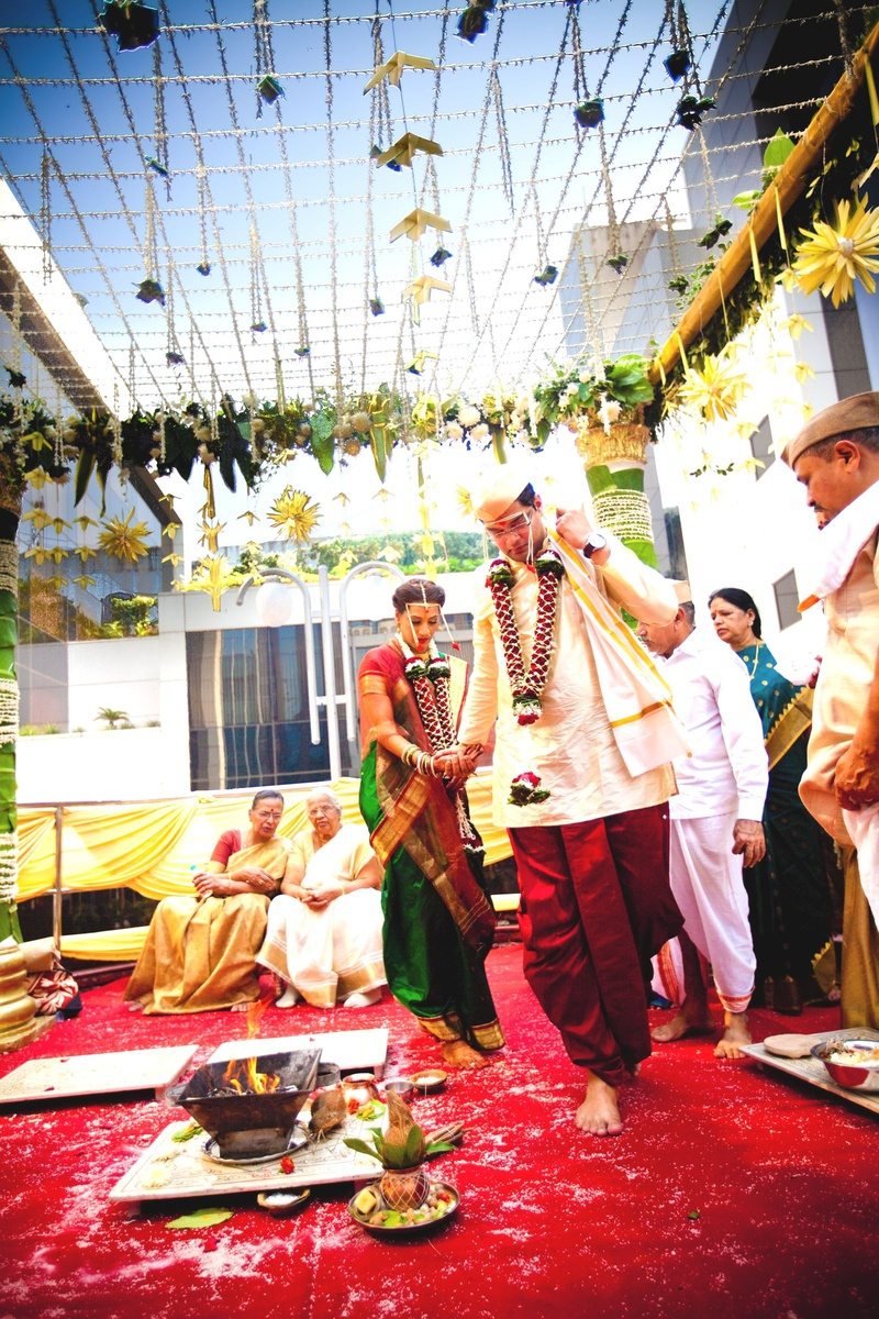 A Classy Mallu Marathi Marriage With A Lovely Decor