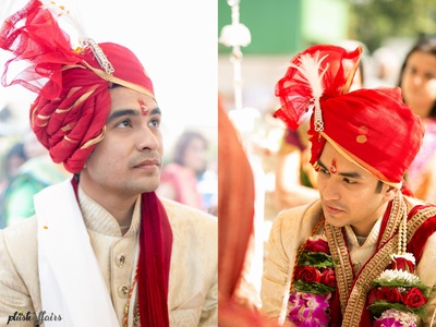 Grooms wear by Kora, Mumbai.
