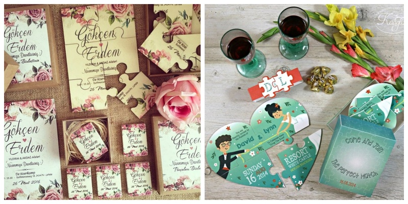 10 super-cool jigsaw puzzle wedding invites to give your guests a cute little surprise!