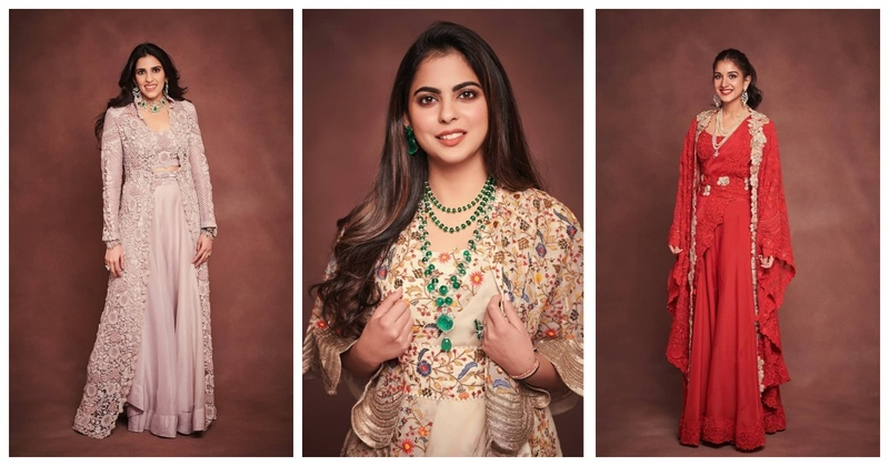 #AmbaniBash - 3 Stunning Bridesmaids Inspiration by Anamika Khanna